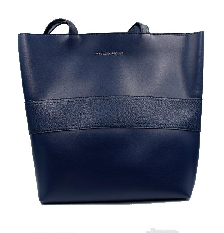 Handtas-Maria Valentina Shopping Marinho (Lengte 45 cm Hoogte 35 cm)