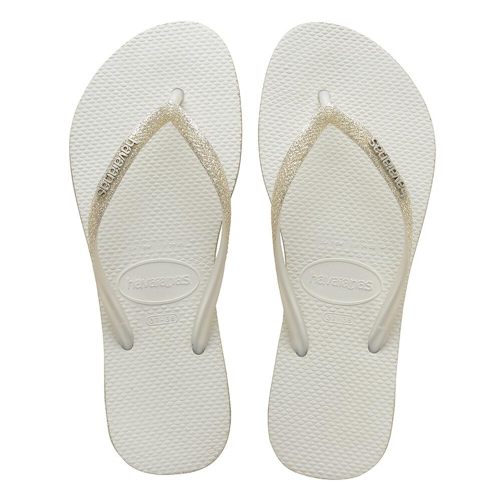 Havaianas Slim Sparkle White