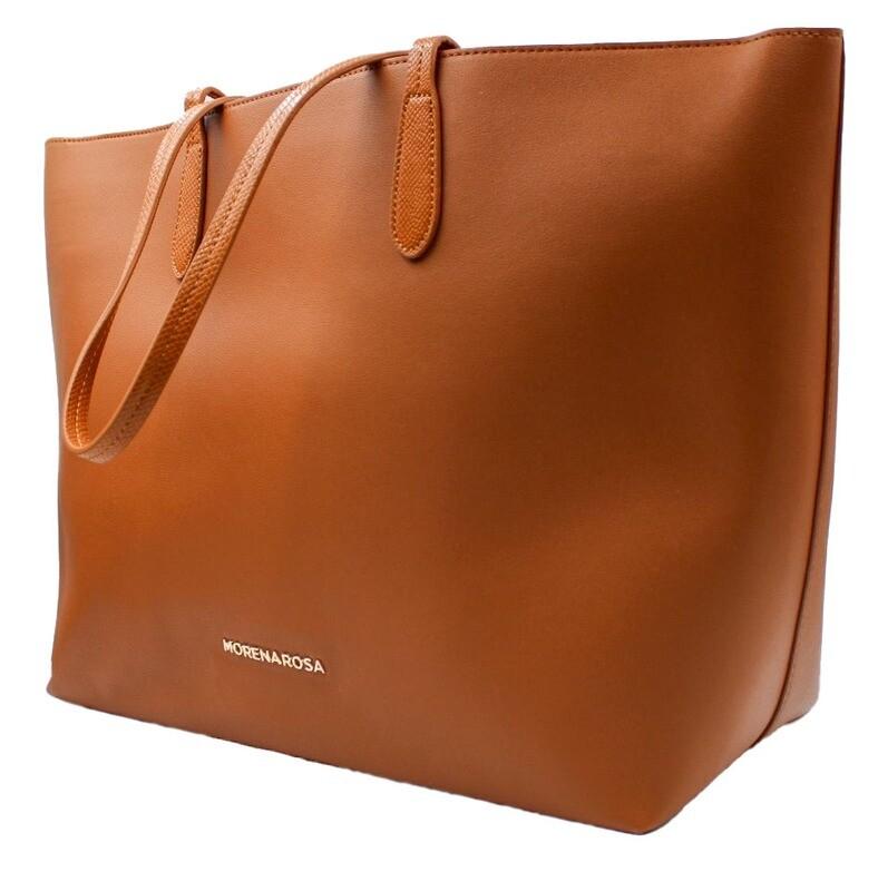 Handtas-Morena Rosa Shopping Chaveiro Camel (Lengte 50 cm Hoogte 30 cm)