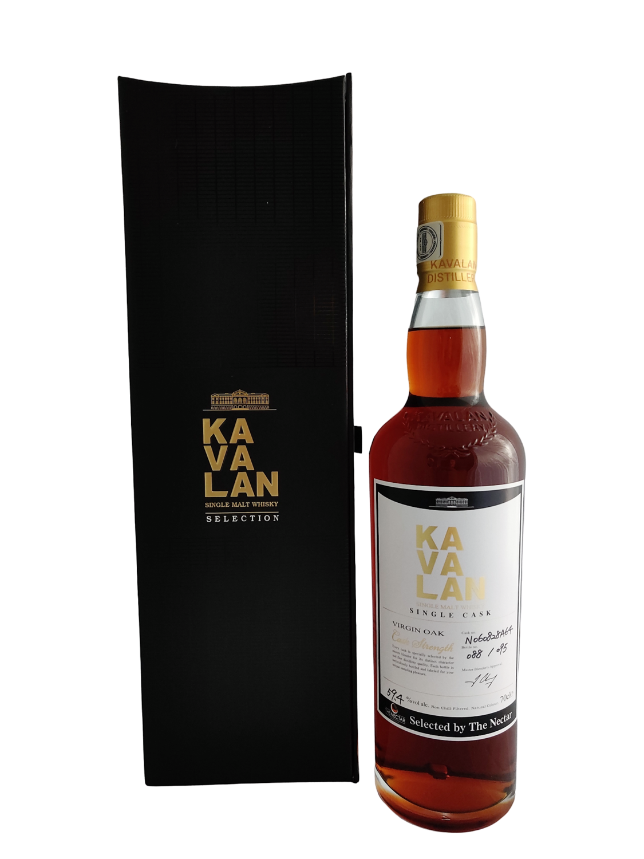 Kavalan - 13y Virgin Oak Cask N060828A64 for the Nectar  - 70 cl - 59.4%