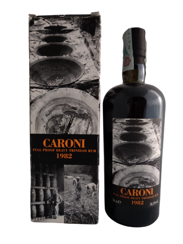 Caroni - 24y Vintage 1982 Full Proof Heavy  for Velier - 70 cl - 58.3%