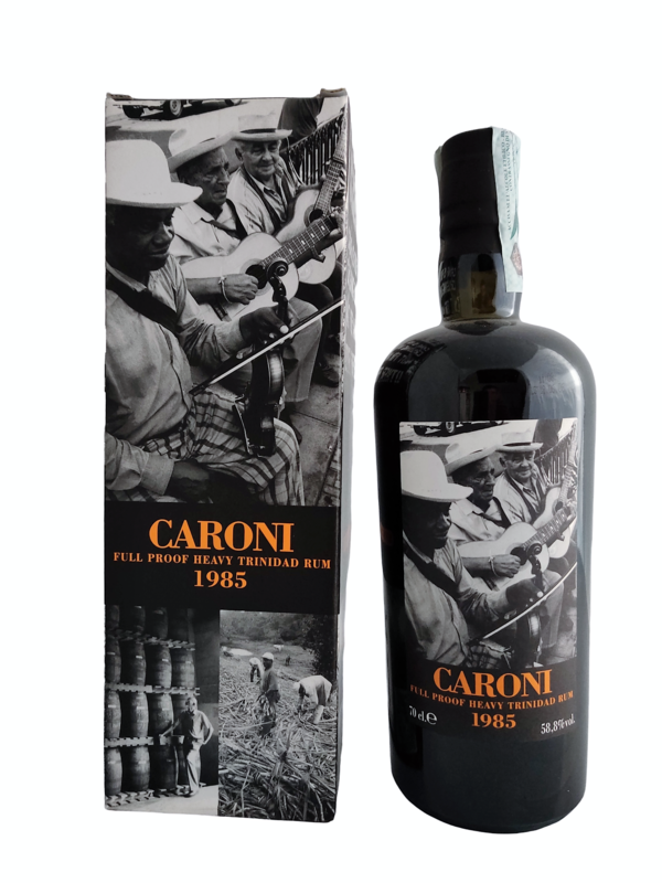 Caroni - 21y Vintage 1985 Full Proof Heavy for Velier - 70 cl - 58.8%