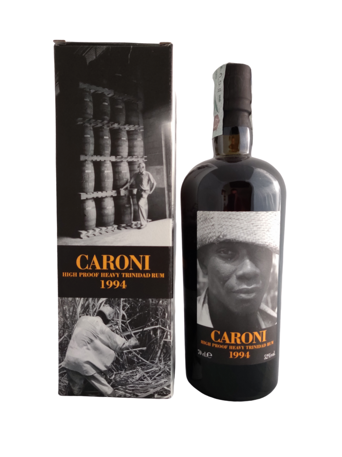 Caroni - 17y Vintage 1994 High Proof Heavy for Velier - 70 cl - 52%