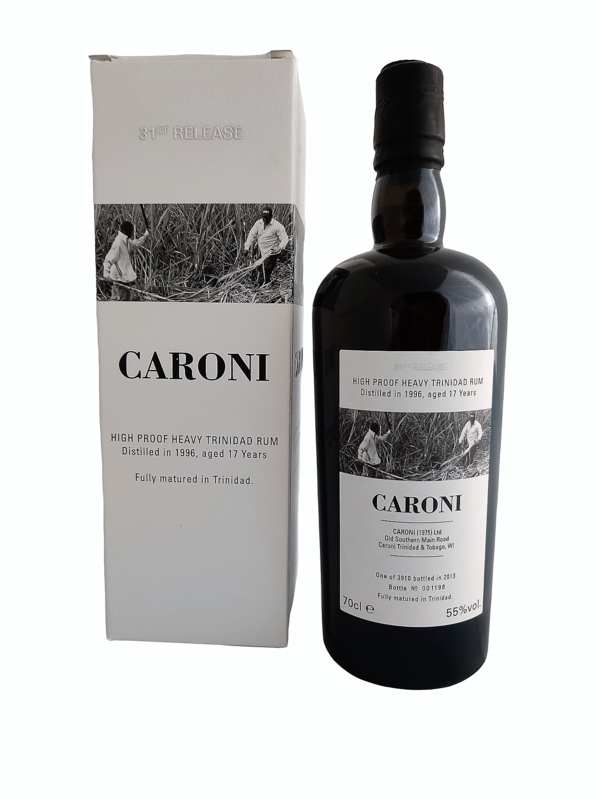 Caroni  - 17y Vintage 1996 High Proof Heavy 31ste Release Velier - 70 cl - 55%