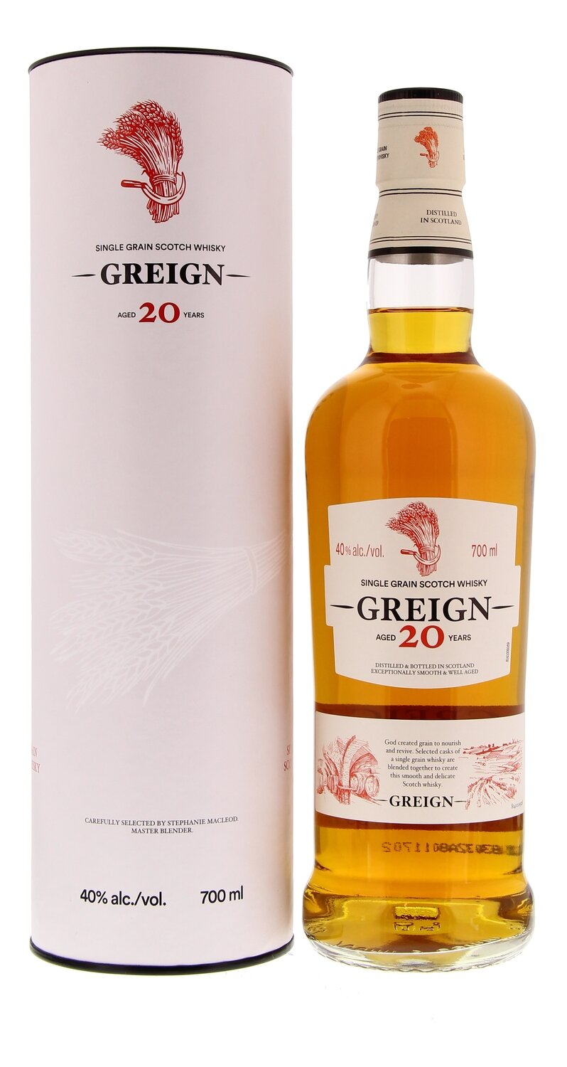 Greign 20 Years 40° 70 cl + GBX