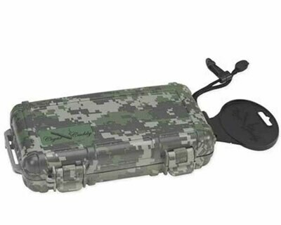 CIGAR CADDY TRAVEL HUMIDOR HUM-CC5-FC 5 CIGARS FOREST CAMO