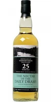 Glentauchers 25 Year Old 1992 - The Nectar of the Daily Drams 51.2° 70CL