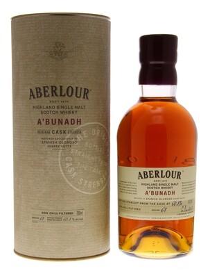 Aberlour A Bunadh 59.5° 70 cl + GBX