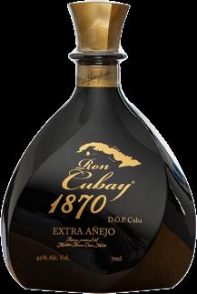 Ron Cubay Extra Añejo 18 year 40° 70cl