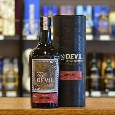 Kill Devil Single Cask strenght Rum Guyana aged 15 years 57,1°