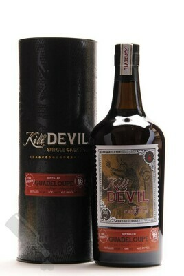 Kill Devil Single Cask strength Rum Guadeloupe aged 18 years 58.2°