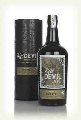 Kill Devil Single Cask Rum Belize aged 12 years 46°