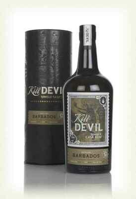 Kill Devil Single Cask Rum Barbados aged 12 years 46°