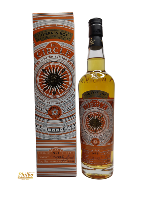 Compass Box - The Circle - Limited Edition - 70cl - 46%