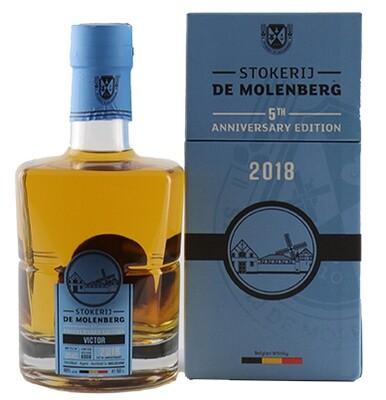 De Molenberg Stokerij Gouden Carolus 5th Anniversary Edition 2018 46° 50cl