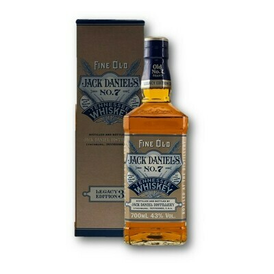 Jack Daniel's 1905 Legacy Edition 3 43° 70 cl + GBX