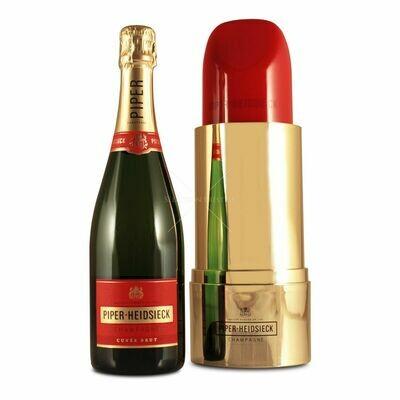 Piper Heidsieck brut lipstick 75cl / 12%