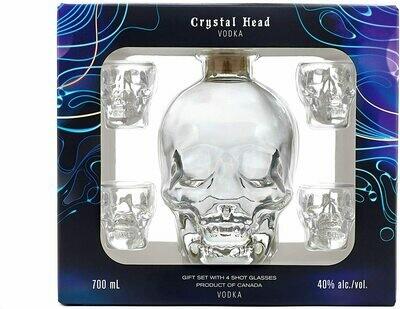 Crystal Head 70cl+4 shot 40%