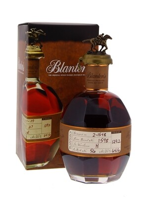 Blanton's Straight from the Barrel 64.60° 70 cl + GBX