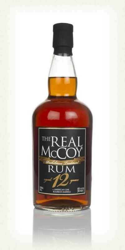 The Real McCoy rum aged 12 years 40° 70cl