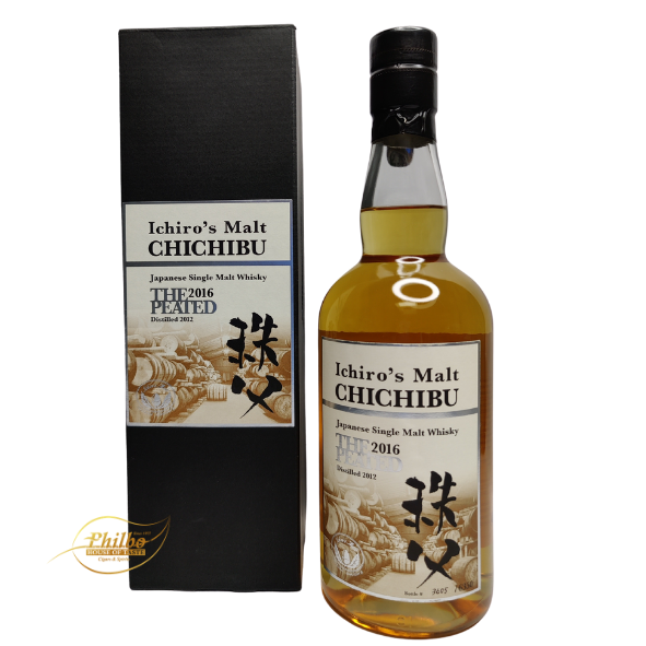 Ichiro's Malt Chichibu The Peated 2016 - only 6350 bottles - 54.5 % - 70cl