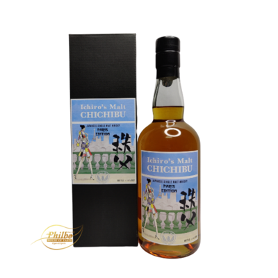 Ichiro's malt Chichibu Paris Edition 2018 - only 1357 bottles - 57.3% - 70cl
