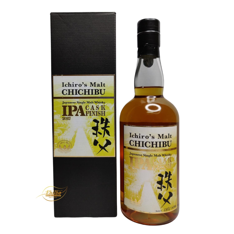 Ichiro's malt Chichibu IPA Cask Finish - only 6700 bottles - 70cl - 57.5%