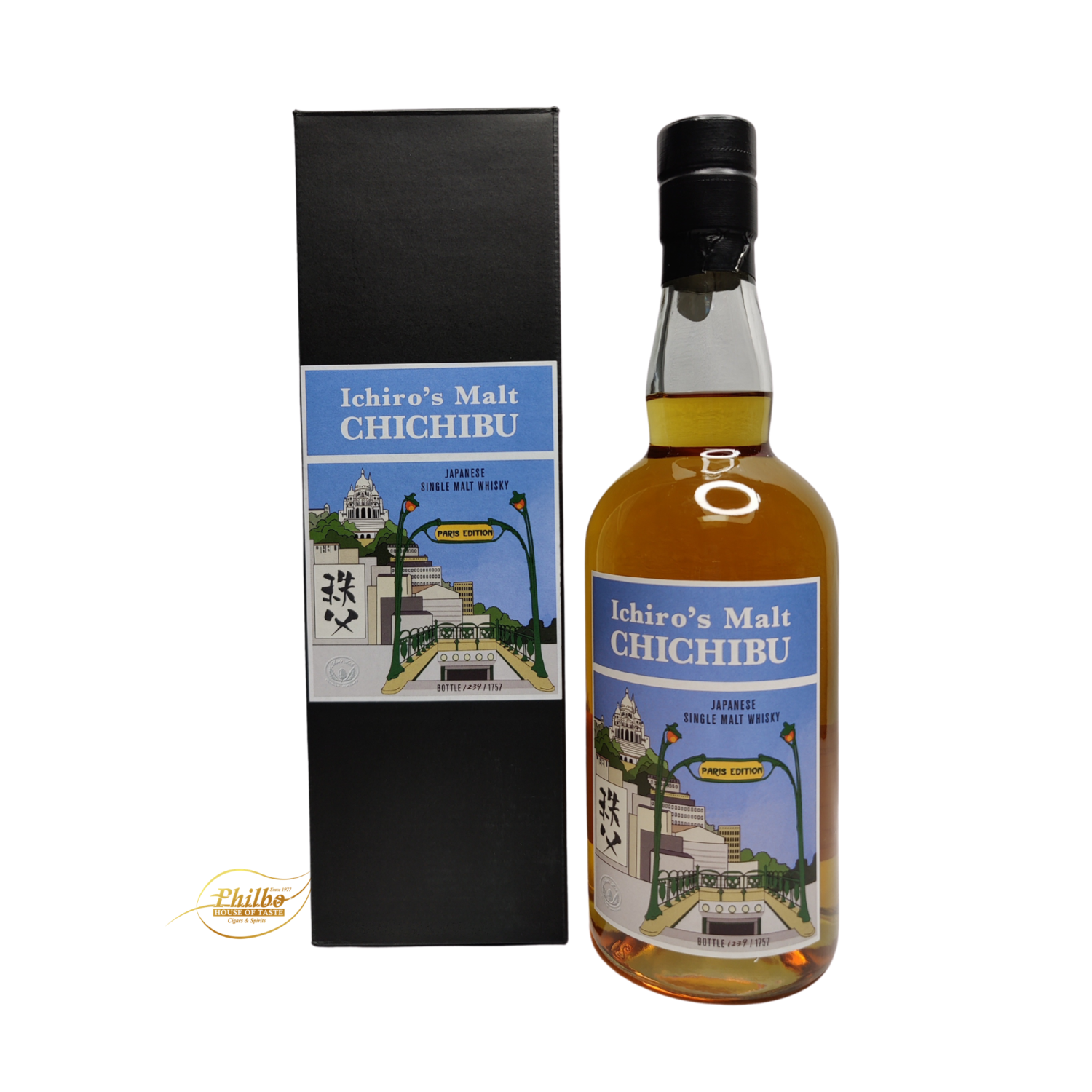 Ichiro's malt Chichibu Paris Edition 2019 - only 1757 bottles - 50.5% - 70cl