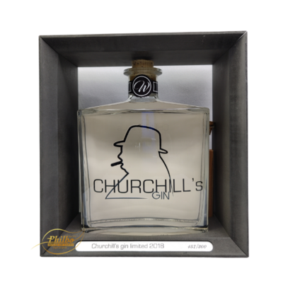 Churchill's Gin limited 2018 37,5° 150 cl