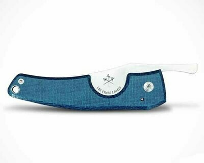 Sigarenknipper La Fine Lame Le Petit Composite Micarta Blue Cc0202001