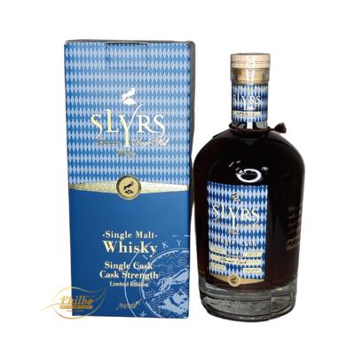 Slyrs - Single malt - Single Cask - Cask strenght - Limited edition - Oloroso cask -70cl - 55.6% - only 613 bottles