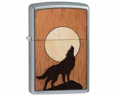 ZIPPO 60.004939 WOODCHUCK HOWLING WOLF