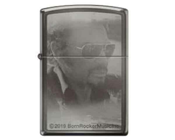 ZIPPO 60.004976 JOHNNY HALLIDAY PHOTO/LASER LTD EDITION