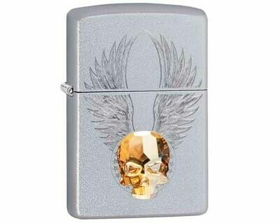 ZIPPO 60.004903 GOLD SKULL DESIGN
