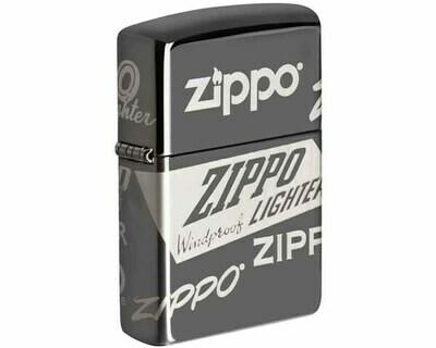 ZIPPO 60.004956 ZIPPO LOGO DESIGN 150 - BLACK ICE
