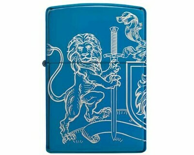 ZIPPO 60.005244 MEDIEVAL COAT OF ARMS DESIGN