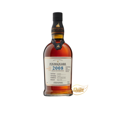 Foursquare Exceptional cask Mark XIII 2008 60% / 70cl