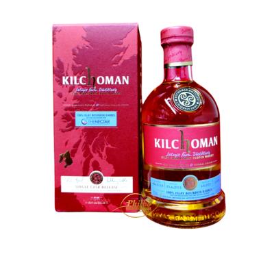 Kilchoman 2013 7Y Single Cask 100% Bourbon 53° Bottled for The Nectar