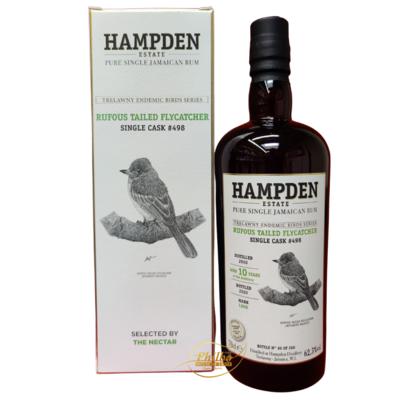 HAMPDEN Endemic Birds Series - 2010 10Y - LROK - Rufous Tailed Flycatcher - The Nectar - 62,5% - 0,7L