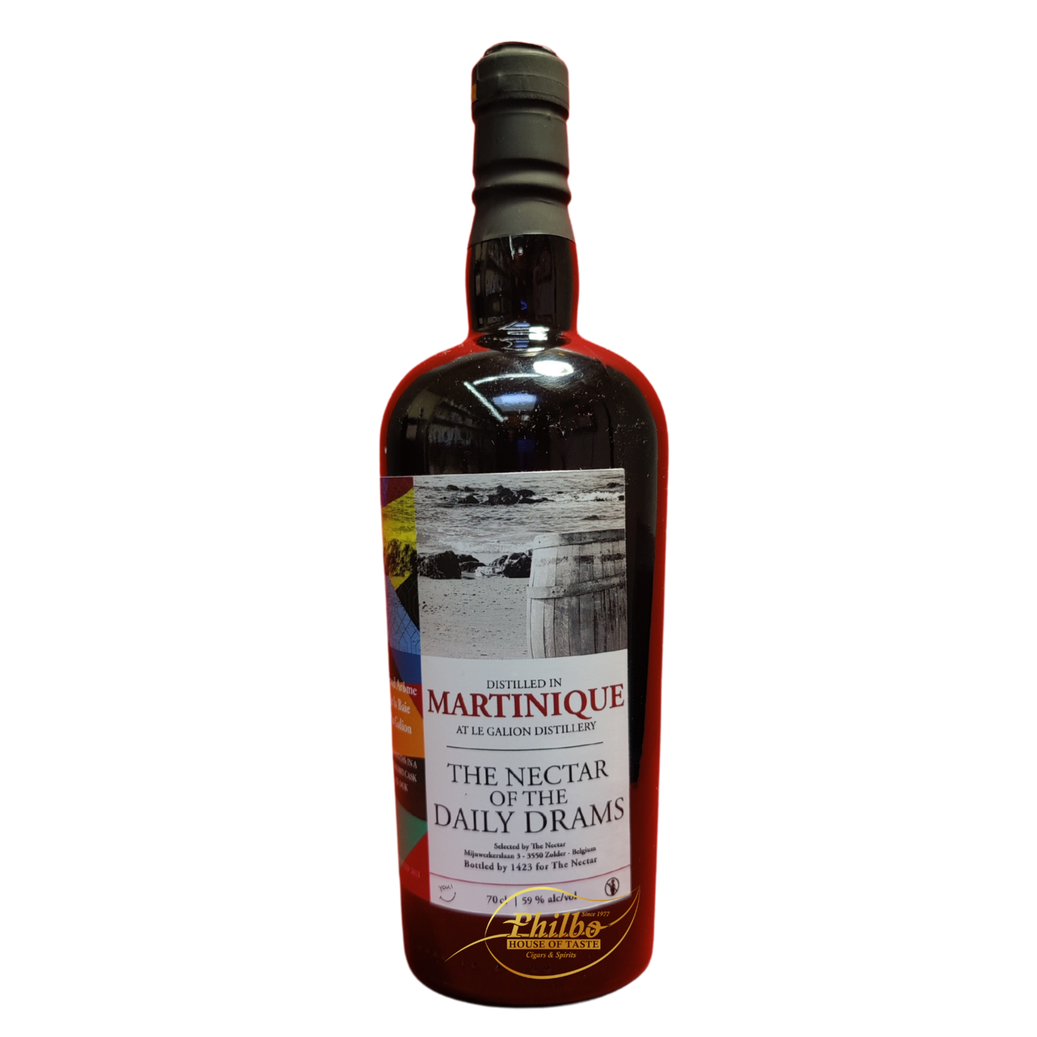 LE GALION MARTINIQUE 2020 NECTAR OF THE DAILY DRAM EX-DOK PX-CASK 59% 70CL