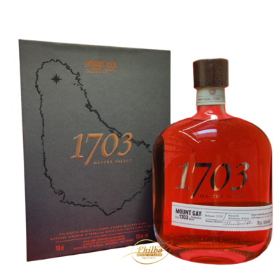 Mount Gay 1703 Master Select 2018 43% 70cl