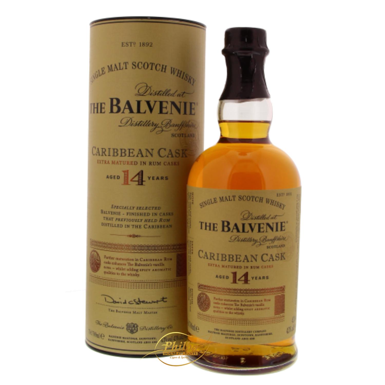 Balvenie 14 Year Old Caribbean Cask - 43% - 70cl