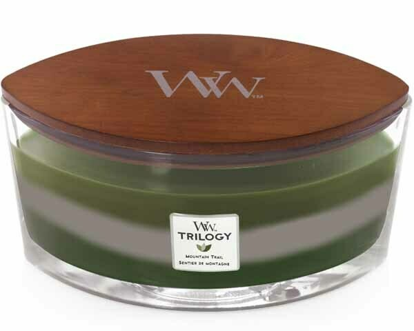 WW Trilogy Mountain Trail Ellipse Candle