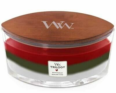 WW Trilogy Winter Garland Ellipse Candle