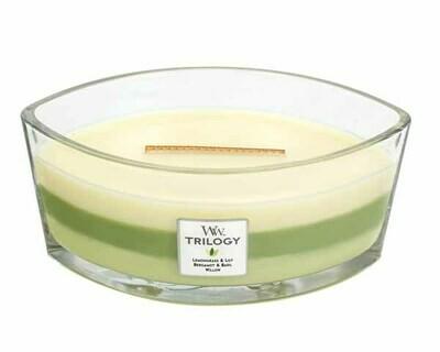 WW Trilogy Garden Oasis Ellipse Candle