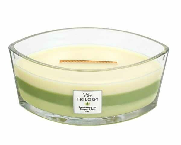 WW Trilogy Garden Oasis Ellipse Candle