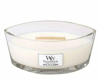 WW White Tea & Jasmine Ellipse Candle