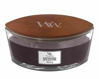 WW Black Plum Cognac Ellipse Candle
