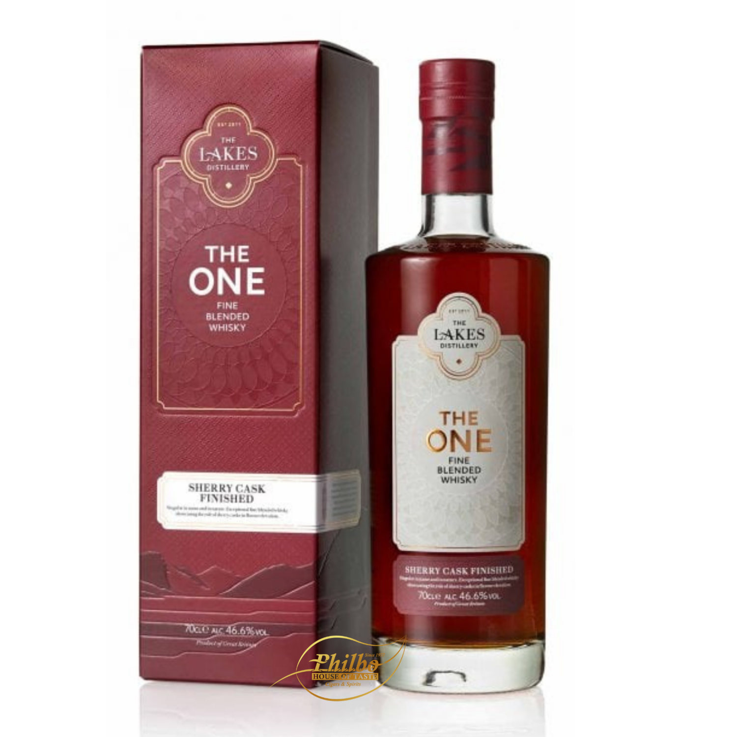 The Lakes - The One Sherry Cask Finished 46,6% - 70cl