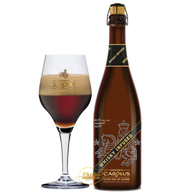 Gouden Carolus Whisky Infused - 72cl - 11,7%
